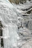 Icy Cascade Royalty Free Stock Images