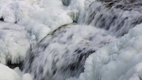 Icy Cascade Loop stock footage