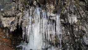 Icy cave Stock Photos