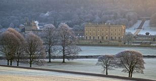 Icy Chatsworth Stock Photo