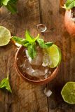Icy Cold Moscow Mules Stock Photography