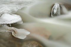 Icy Creek Flow Stock Photos