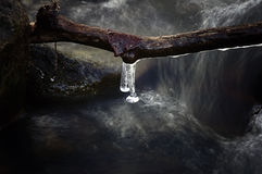Icy creek Stock Photography