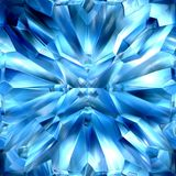Icy crystals royalty free stock photography