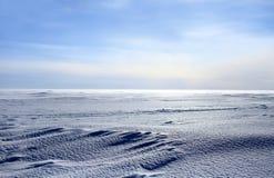 Icy desert Royalty Free Stock Photo