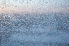 Icy drawings Royalty Free Stock Photos