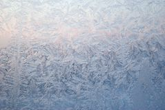 Icy drawings Royalty Free Stock Photo