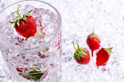 Icy drink Stock Images