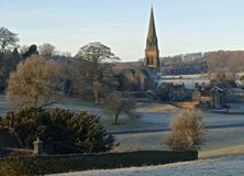 Icy Edensor Stock Images