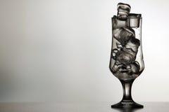 icy exponeringsglas Arkivfoton