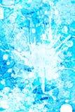 Icy färgstänkbakgrund Arkivfoto