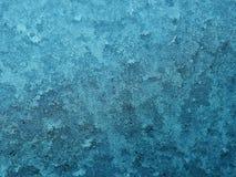 icy fönster arkivfoto