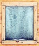 icy fönster Royaltyfri Fotografi