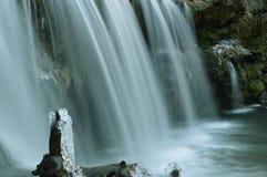Icy Falls Royalty Free Stock Photos