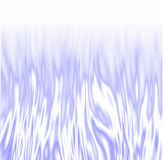 Icy Flames over white. Icy white / blue fire Royalty Free Stock Image