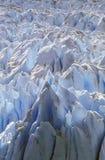 Icy formations of Perito Moreno Glacier at Canal de Tempanos in Parque Nacional Las Glaciares near El Calafate, Patagonia, Argenti. Na Royalty Free Stock Photos