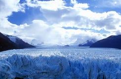 Icy formations of Perito Moreno Glacier at Canal de Tempanos in Parque Nacional Las Glaciares near El Calafate, Patagonia, Argenti Royalty Free Stock Photos