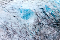 Icy Frozen Glacier Background Stock Photography