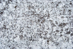 Icy ground Stock Images
