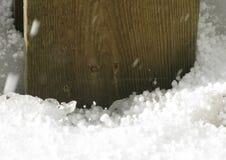 Icy hail balls Stock Photo