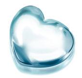 Icy heart Stock Photos