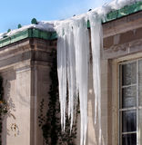 Icy house Royalty Free Stock Image
