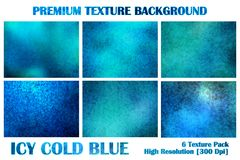 Icy Ice Cold Blue Premium Texture Pack Under Water Grunge Distort Rusty Abstract Pattern Background Wallpaper