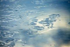 Icy lake Stock Photo