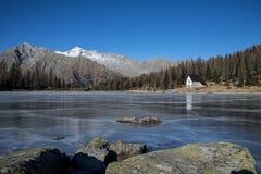 Icy lake Stock Photography