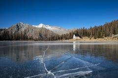 Icy lake Stock Photos