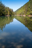Icy Lake in Skagway Stock Photography
