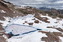 Icy lakes Royalty Free Stock Photography