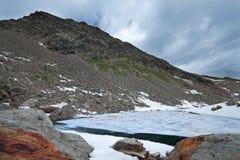 Icy lakes Stock Photos