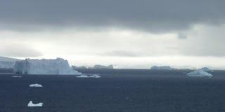 Icy landscape in Antarctica Stock Photos