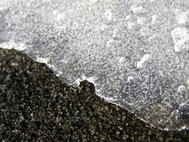 Icy Ledge Royalty Free Stock Images