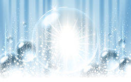 Icy light blue background Royalty Free Stock Photography
