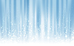 Icy light blue background Stock Image