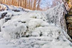 Icy McCormicks Creek Falls Stock Photos