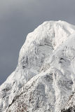 Icy mountain Stock Images