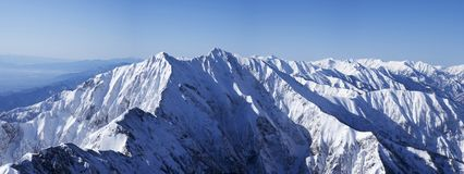Icy mountains royalty free stock images