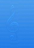 icy musikanmärkning stock illustrationer