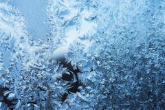 Icy pattern Royalty Free Stock Images