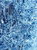 Icy pattern Royalty Free Stock Image
