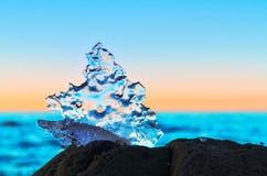 Icy pattern Stock Photo