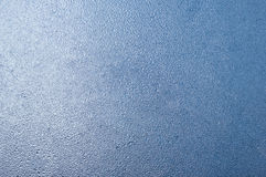 Icy pattern on glass Stock Image