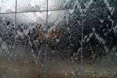 icy reflexioner Arkivfoton