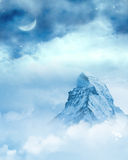 Icy Rock Background Royalty Free Stock Photography