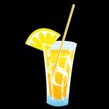 icy saftigt för drink royaltyfri illustrationer