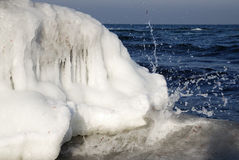 Icy sea Royalty Free Stock Photography