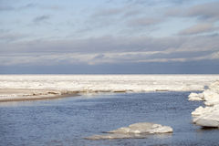 Icy sea. Stock Images